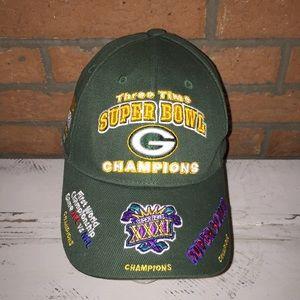 Green Bay Packers Reebok Super Bowl Champions Hat